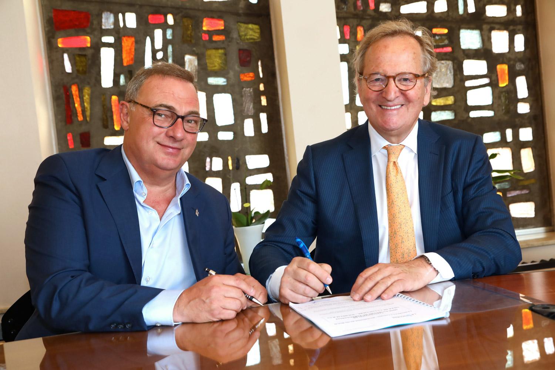 Signature de la convention de mise en œuvre