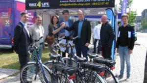 Les premiers vélos électriques de La Strada